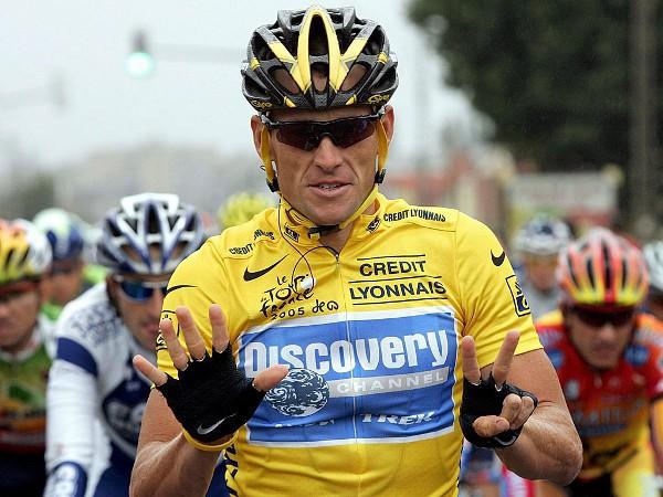Lance Armstrong en 2005, cuando ganó su séptimo Tour