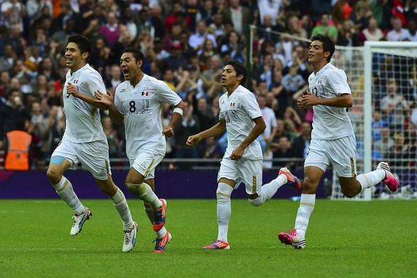 El fútbol méxicano luchará por primera vez por la medalla de oro