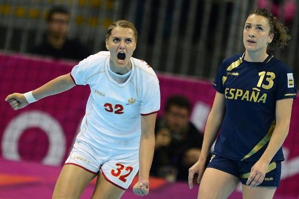 Montenegro dejó fuera de la final de balonmano a España