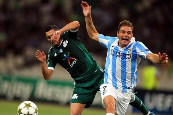 El Málaga no pasó apuros en Atenas y seguirá en la Liga de Campeones