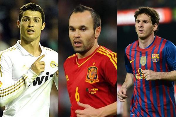 Candidatos al premio al mejor jugador de la UEFA 2012