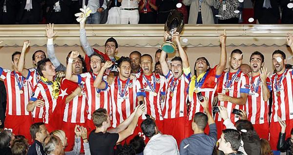 Gran victoria del Atlético ante el Chelsea en la Supercopa de Europa