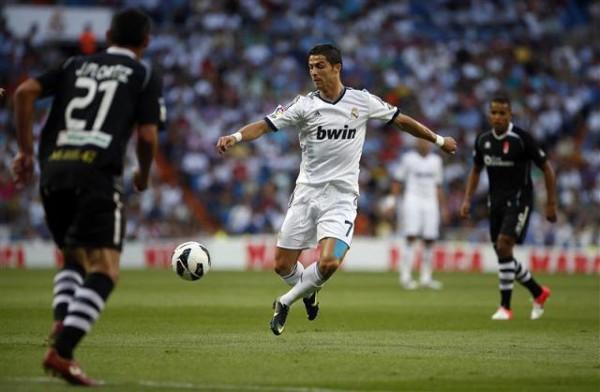 Cristiano Ronaldo declaró estar triste tras marcar dos goles al Granada