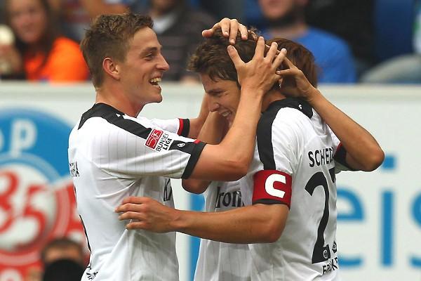 El Eintracht de Frankfurt es la revelación de estas primeras jornadas en Alemania
