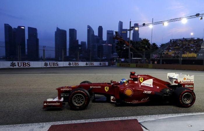 Ferrari-Singapur
