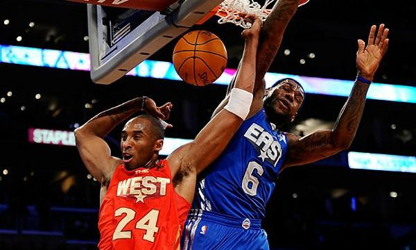 Lebron James y Kobe Bryant son dos de los mejores jugadoeres de la NBA