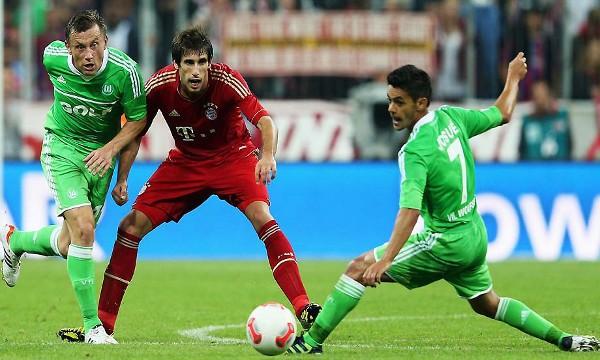 Javi Martínez jugó su primer partido como titular en el Bayern Munich