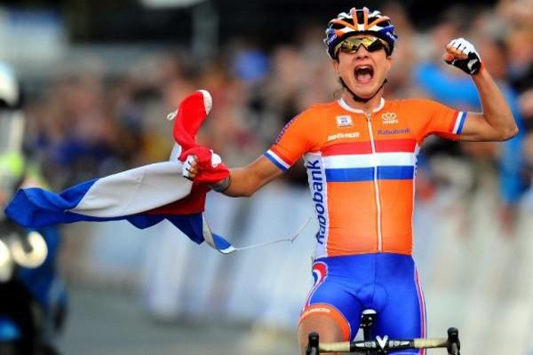La holandesa Vos consigue la victoria en el Campeonato del Mundo en ruta