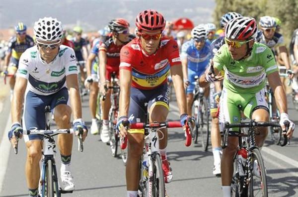 Valverde, Contador y Purito, los tres mejores de esta Vuelta 2012