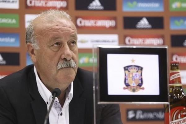 Del Bosque no prepara cambios en la selección española