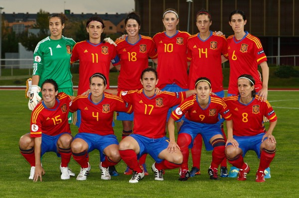 España estará en la Eurocopa de 2013 de fútbol femenino que se celebrará en Suecia