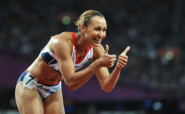 Jessica Ennis es la mejor atleta del año en 2012 en Europa