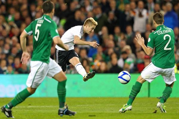Reus fue uno de los protagonista de la goleada de Alemania en Irlanda