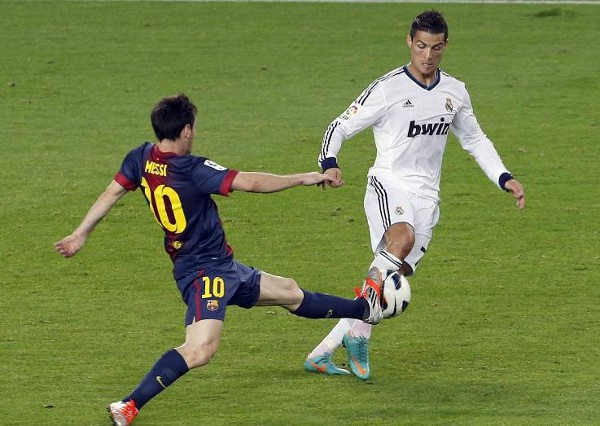 Messi y Cristiano marcaron los dos goles de su equipo en el Clásico