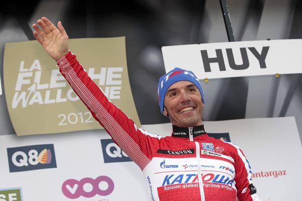 Joaquim Rodríguez vuelve a conseguir el número 1 en el ranking de la UCI