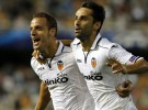 Liga de Campeones 2012-13: un doblete de Jonas da al Valencia una sufrida victoria ante el Lille