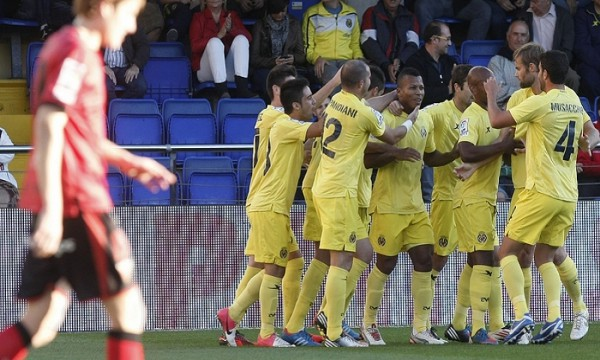 El Villarreal venció cómodamente al Mirandés