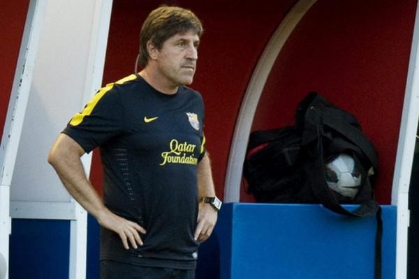 Jordi Roura será el relevo de Tito Vilanova mientras esté de baja