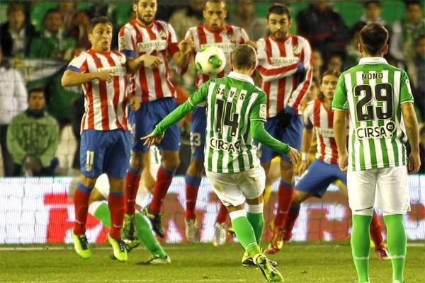 El Betis no pudo remontar la eliminatoria ante el Atlético