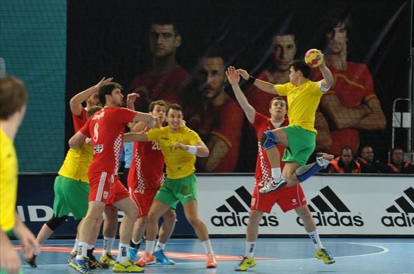 Croacia comenzó el Mundial de balonmano con una victoria ante Australia