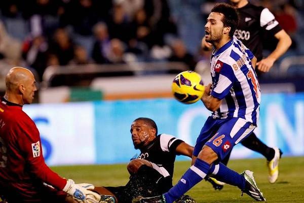 El Depor estrenó 2013 con victoria ante el Málaga