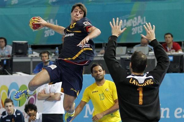 España ganó a Australia por 40 goles de diferencia