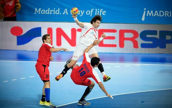 La selección española ganó su segundo partido ante Egipto