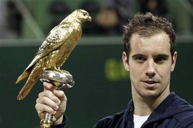 Richard Gasquet gano en Doha