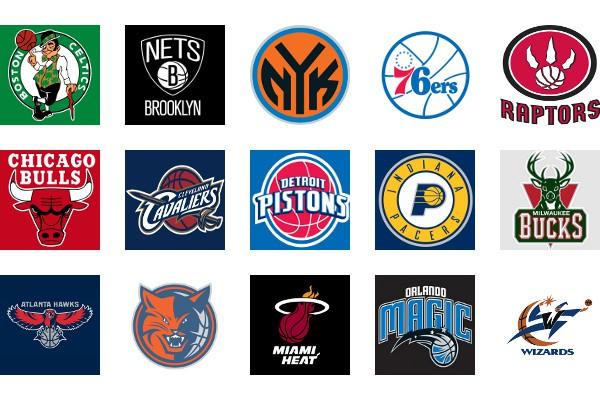 NBA Logos Conferencia Este