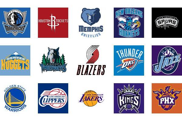 NBA Logos Conferencia Oeste