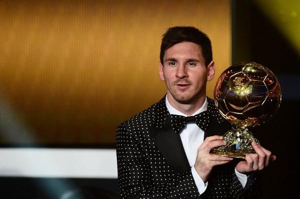 Messi con su cuarto Balón de Oro