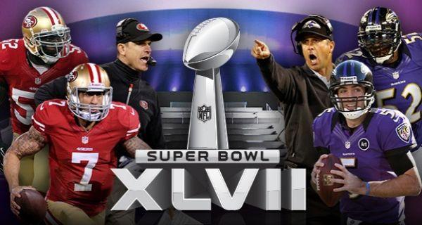 Los Niners y los Ravens juegan la final de la Super Bowl 2013