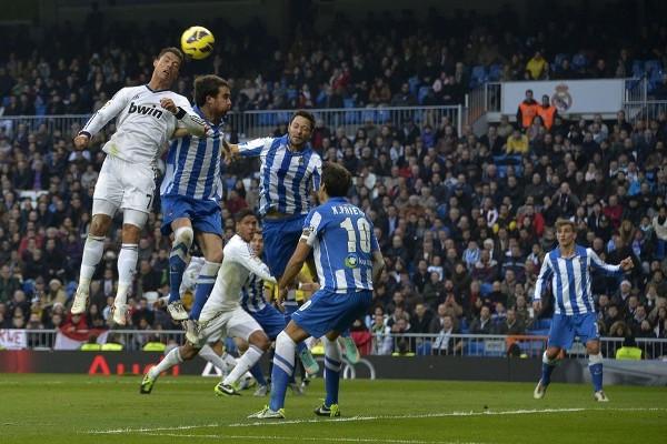 Cristiano Ronaldo lideró al Madrid en la victoria ante la Real