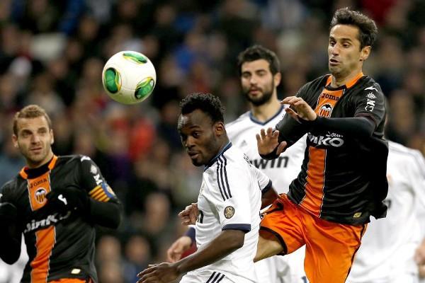 Copa del Rey 2012-2013: el Real Madrid supera al Valencia por 2-0 en el Bernabeu