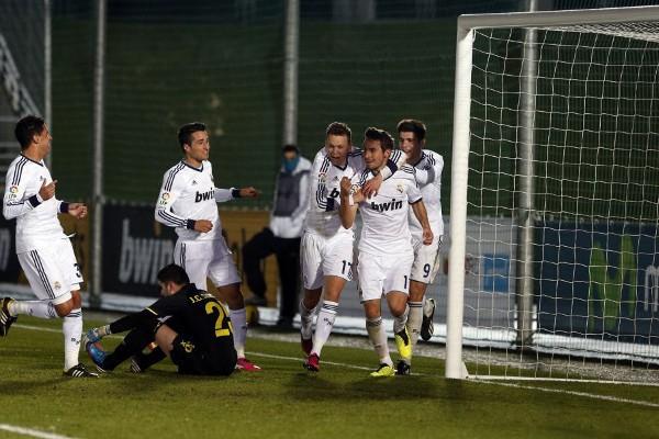 El Real Madrid Castilla goleó al Villarreal