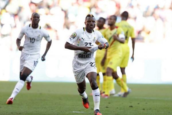 El espanyolista Wakaso marcó el gol de la victoria para Ghana