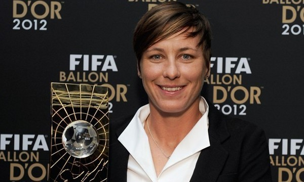 Wambach, la mejor jugadora de fútbol en 2012