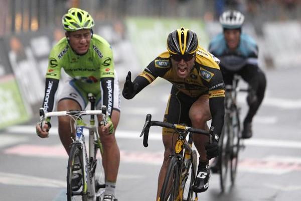 Ciolek ganando la Milán San Remo 2013