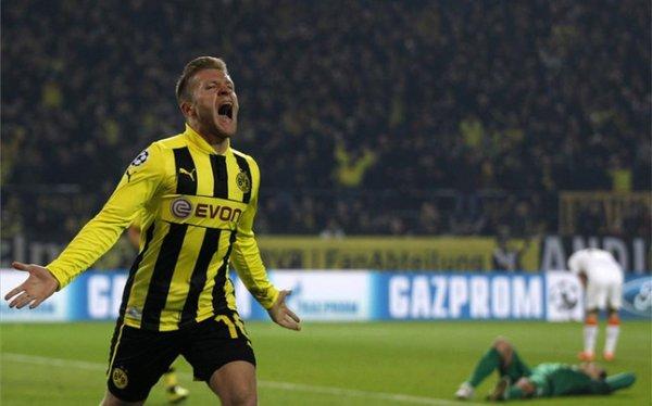 Borussia Dortmund estará en los cuartos de final de la Champions