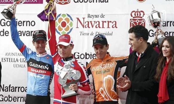 Podio del GP Miguel Indurain