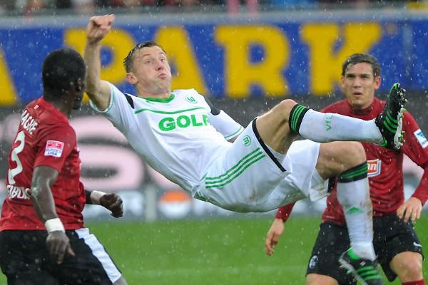 Olic es uno de los goleadores del Wolfsburgo