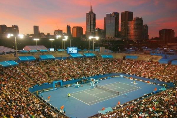 Partido de tenis del pasado Open de Australia 2013