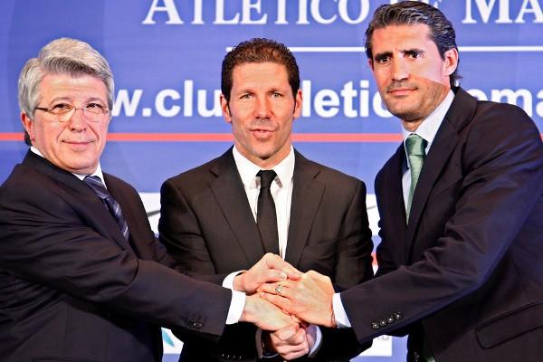 Simeone renueva con el Atlético hasta 2017, cuatro temporadas más
