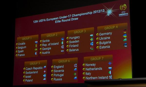 Croacia, Bélgica y Francia, rivales de España sub 17