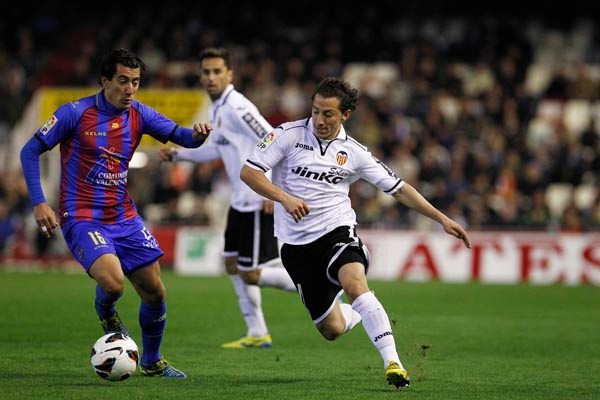 Valencia y Levante empataron en el derby regional