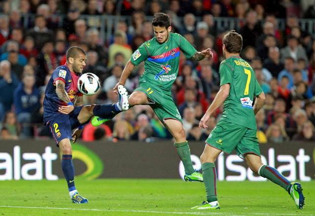 La victoria del Barça ante el Levante deja a los azulgranas a 6 puntos de campeonar