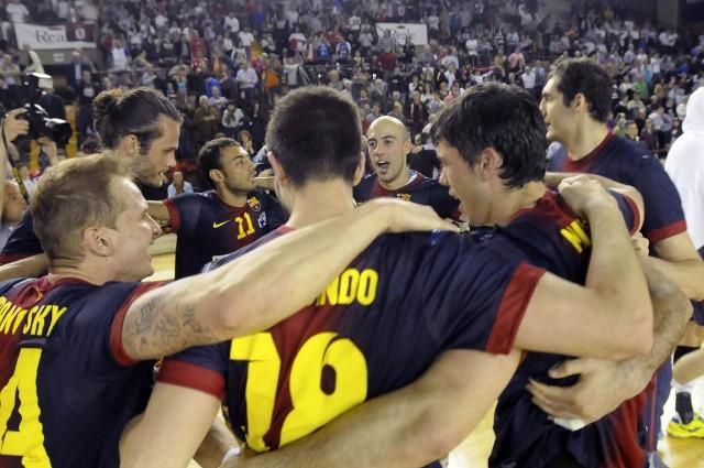 Barcelona gana por tercera vez consecutva la liga de balonmano