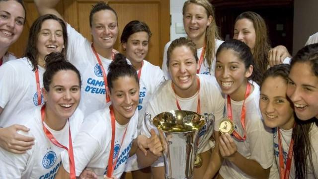 Las chicas del Sabadell son campeonas de Europa de waterpolo