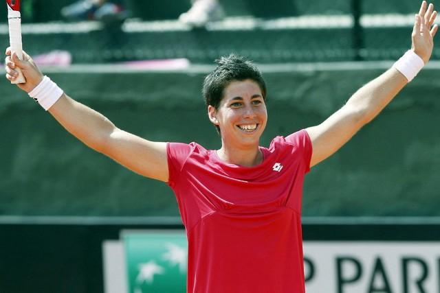 Carla Suárez lleva a España de nuevo al Grupo Mundial de la FedCup