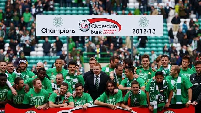 El Celtic volvió a ganar la Premier League de Escocia